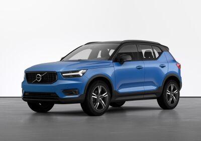 VOLVO XC40 D3 AWD Geartronic R-design Bursting Blue Da immatricolare