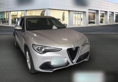 ALFA ROMEO Stelvio 2.2 Turbodiesel 190 CV AT8 RWD Business Grigio Silverstone  Usato Garantito
