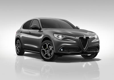ALFA ROMEO Stelvio 2.2 Turbodiesel 190 CV AT8 RWD Executive Grigio Vesuvio Km 0