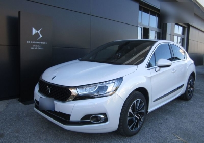 DS DS 4 BlueHDi 120 S&S EAT6 Sport Chic Bianco Madreperla Km 0