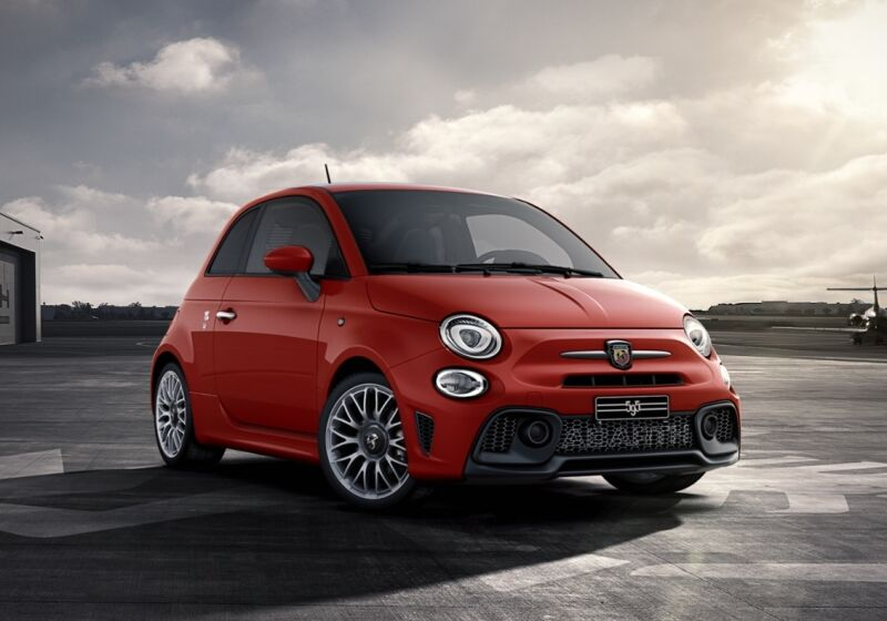 ABARTH 595 1.4 Turbo T-Jet 145 CV Rosso Abarth Km 0 DK0BXKD-a-v1