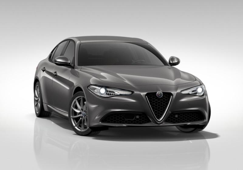 ALFA ROMEO Giulia 2.2 Turbodiesel 180 CV AT8 AWD Q4 Super Grigio Vesuvio Km 0 M77CB-a