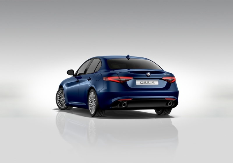 ALFA ROMEO Giulia 2.2 Turbodiesel 180 CV AT8 Super Blu Montecarlo Km 0 U5KI7-3