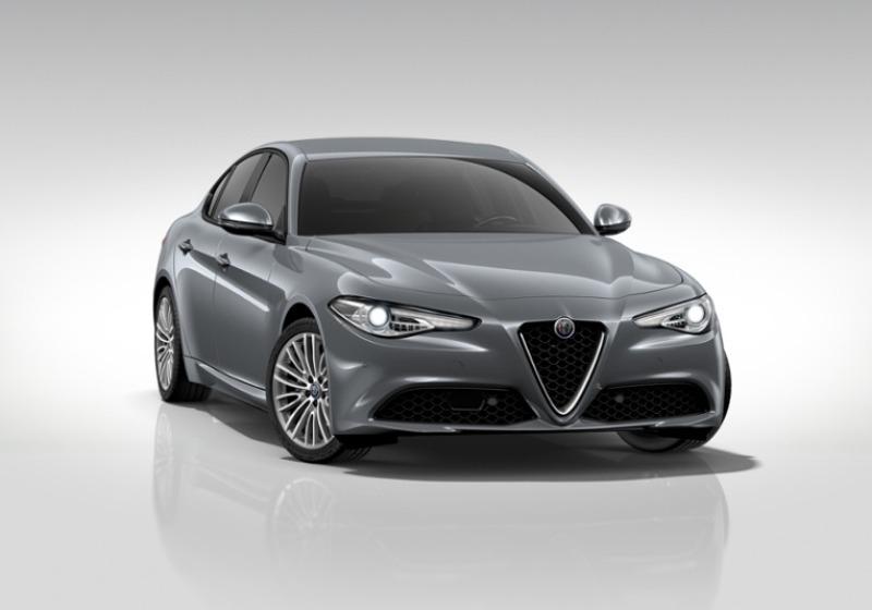 ALFA ROMEO Giulia 2.2 Turbodiesel 180 CV Super Grigio Stromboli Km 0 AHISA-a