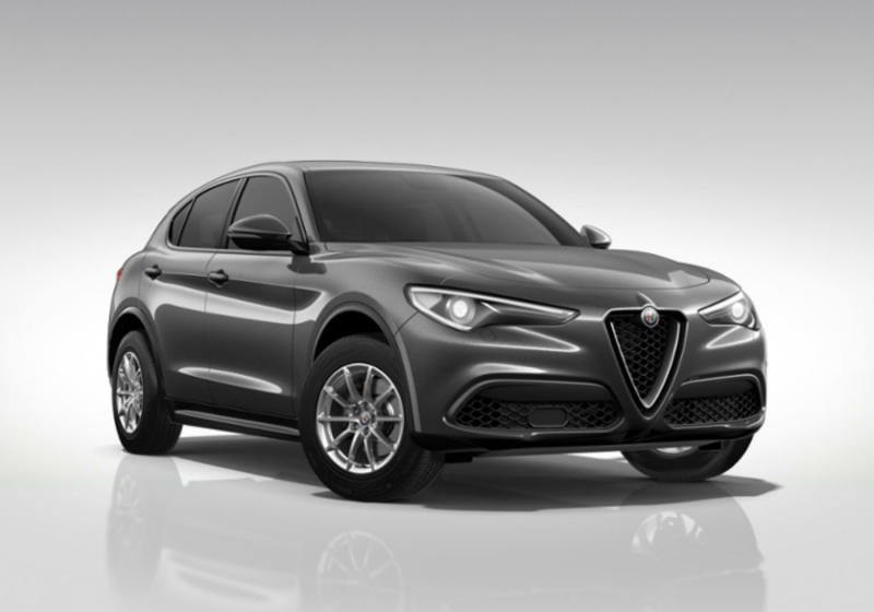 ALFA ROMEO Stelvio 2.0 Turbo 200 CV AT8 Q4 Business Grigio Vesuvio Km 0 T84SK-a