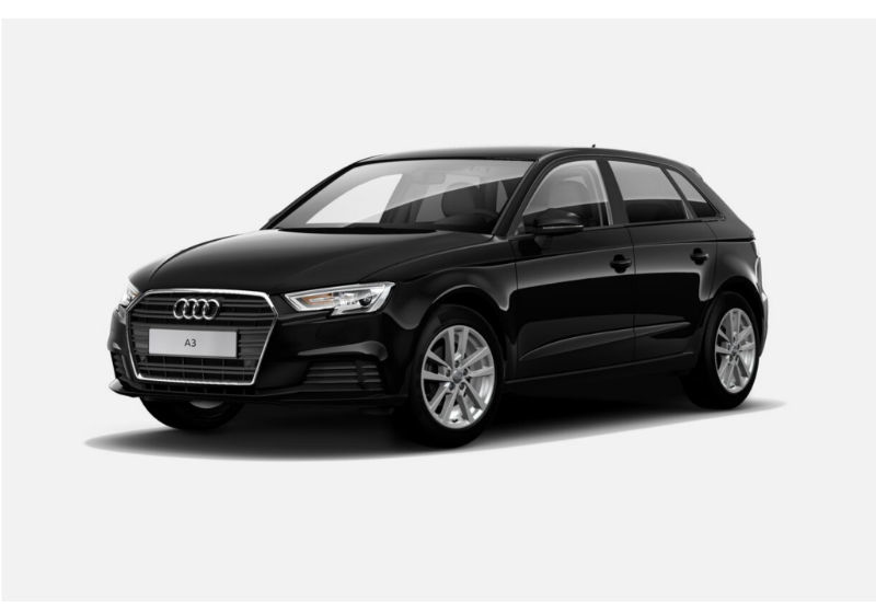 AUDI A3 SPB 30 TDI Business Nero Brillante Km 0 7G912-a1
