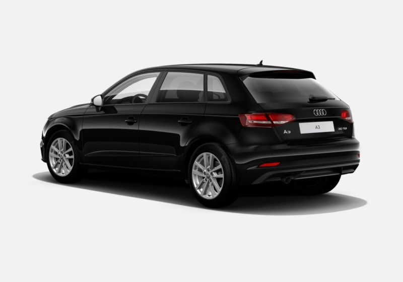 AUDI A3 SPB 30 TDI Business Nero Brillante Km 0 7G912-c