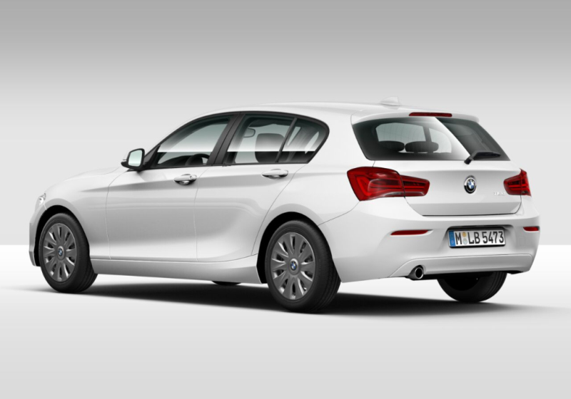 BMW Serie 1 116d 5p. Alpinweiss III Km 0 4XBFP-c