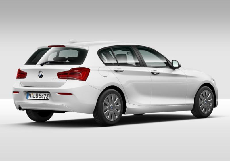 BMW Serie 1 116d 5p. Alpinweiss III Km 0 4XBFP-e