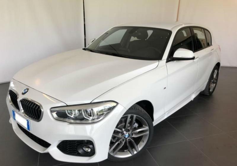 BMW Serie 1 118i 5p. Msport Alpinweiss III Km 0 0UKAB-a