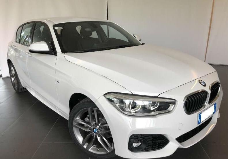 BMW Serie 1 118i 5p. Msport Alpinweiss III Km 0 0UKAB-c