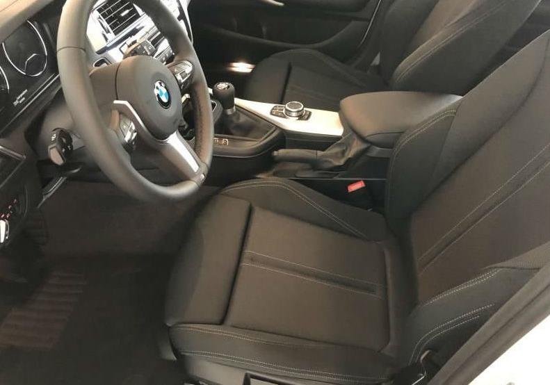 BMW Serie 1 118i 5p. Msport Alpinweiss III Km 0 0UKAB-f