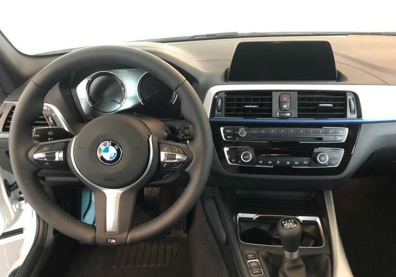 BMW Serie 1 118i 5p. Msport Alpinweiss III Km 0 0UKAB-g