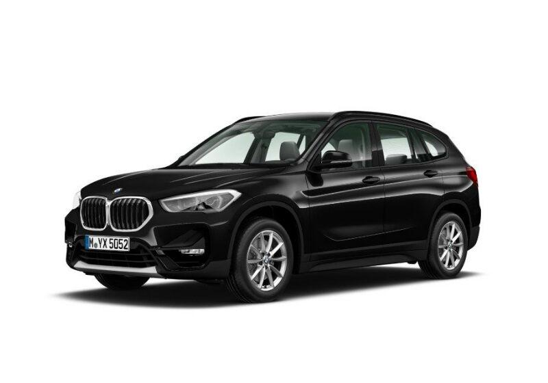 BMW X1 sdrive18i auto Saphirschwarz Km 0 TR0B5RT-a