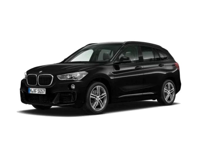 BMW X1 xDrive20d Msport auto Saphirschwarz Km 0 LP0BEPL-a