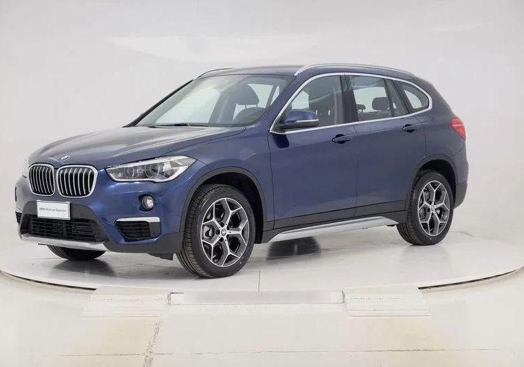 BMW X1 xDrive20d xLine Mediterranean Blu Km 0 DR0BERD-a_censored
