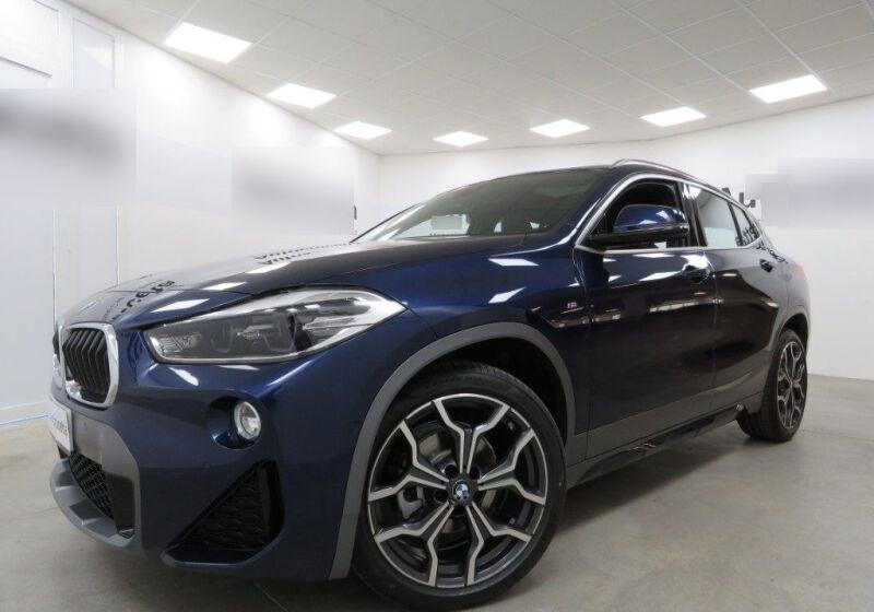 BMW X2 sdrive16d Msport X auto Mediterranean Blue Usato Garantito UR0B4RU-a_censored