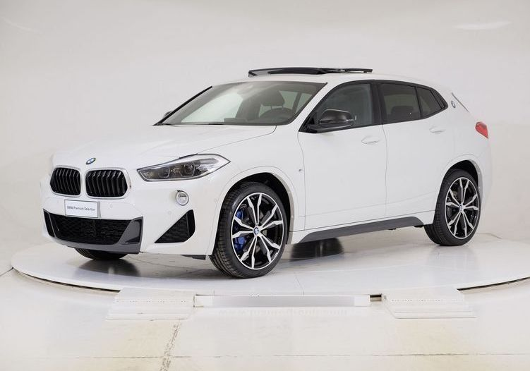 BMW X2 xdrive25d Msport auto Alpinweiss III  Km 0 FW0BGWF-a_censored