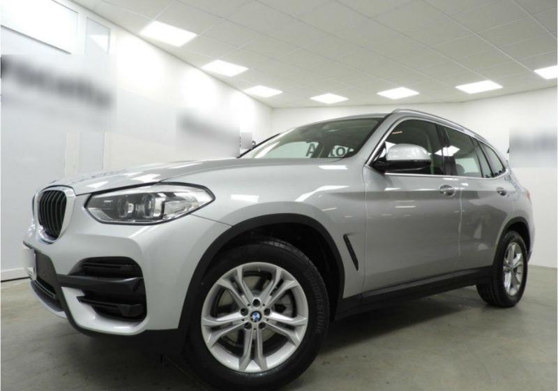 BMW X3 xDrive20d Business Advantage Automatica Glaciersilber Km 0 XMY81-a_censored