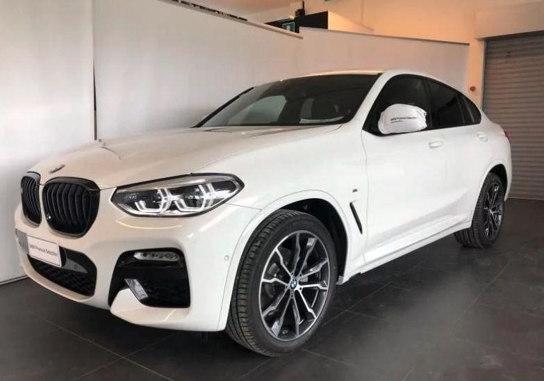 BMW X4 xDrive20d Msport auto Alpinweiss III  Km 0 XP0BEPX-a