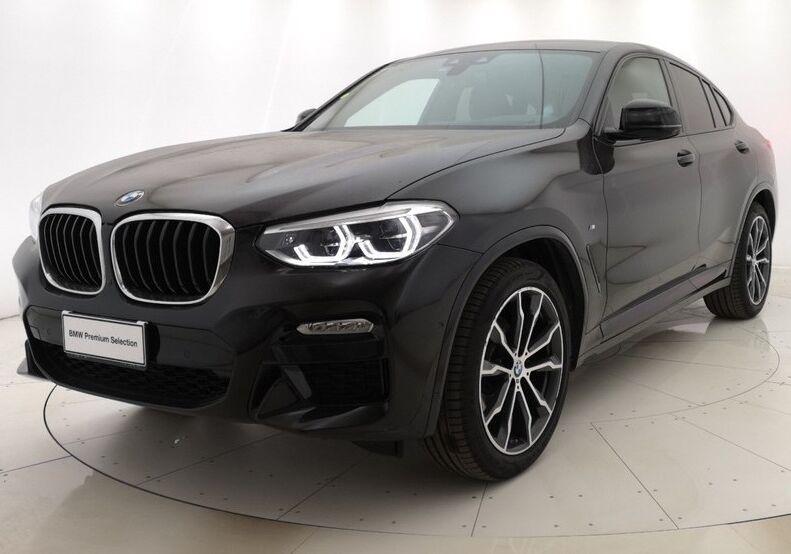 BMW X4 xDrive20d Msport auto Saphirschwarz Usato Garantito BT0BYTB-a