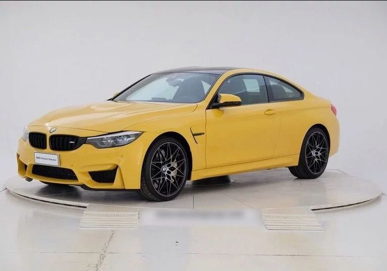 BMW M4 Coupé Competition Speed Yellow Km 0 4AY0YA4-a