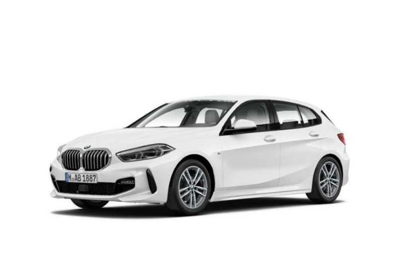 BMW Serie 1 116d 5p. MSport aut. Alpinweiss III  Da immatricolare 6W0BEW6-a