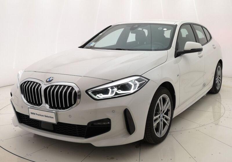 BMW Serie 1 116d 5p. MSport aut. Alpinweiss III  Usato Garantito VA0BTAV-a