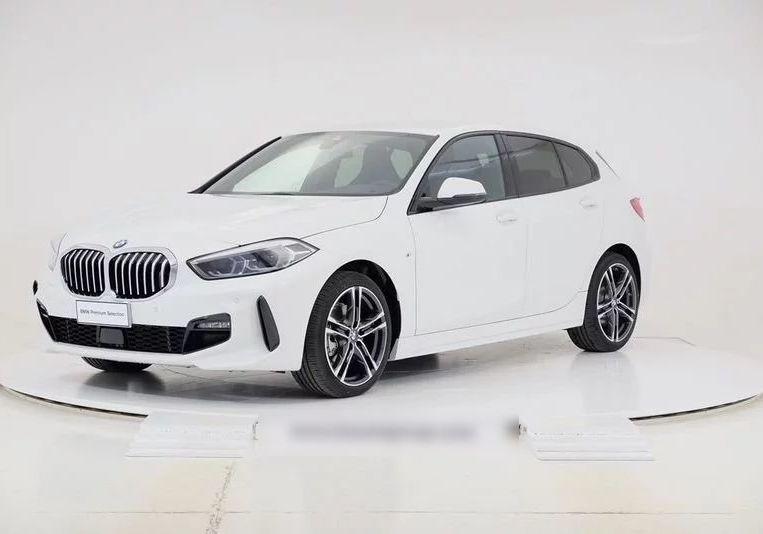 BMW Serie 1 116d 5p. MSport aut. Alpinweiss III  Km 0 DN0BEND-0a