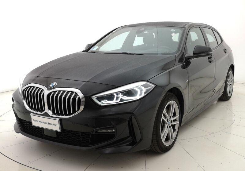 BMW Serie 1 116d 5p. MSport aut. Saphirschwarz Usato Garantito KY0B8YK-a