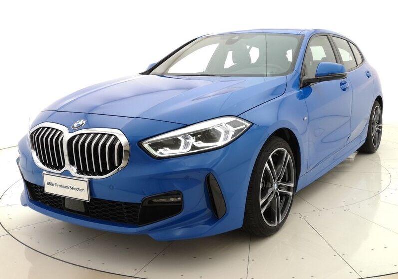 BMW Serie 1 116d 5p. MSport aut. Misano Blue Usato Garantito EC0BWCE-a
