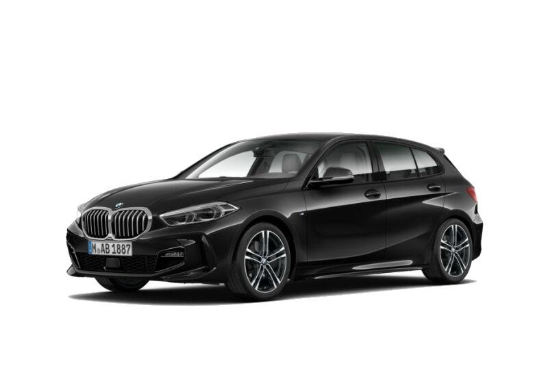 BMW Serie 1 116d 5p. MSport aut. Saphirschwarz Da immatricolare FU0B7UF-a