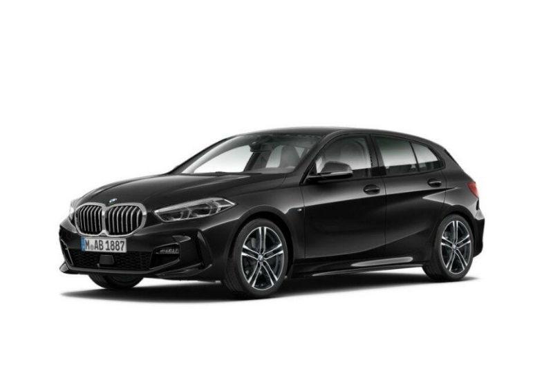 BMW Serie 1 116d 5p. MSport aut. Saphirschwarz Da immatricolare 9C0BGC9-a