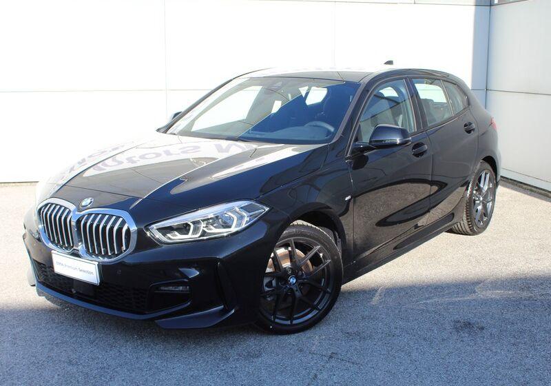 BMW Serie 1 116d 5p. MSport aut. Saphirschwarz Km 0 CT0BRTC-m1