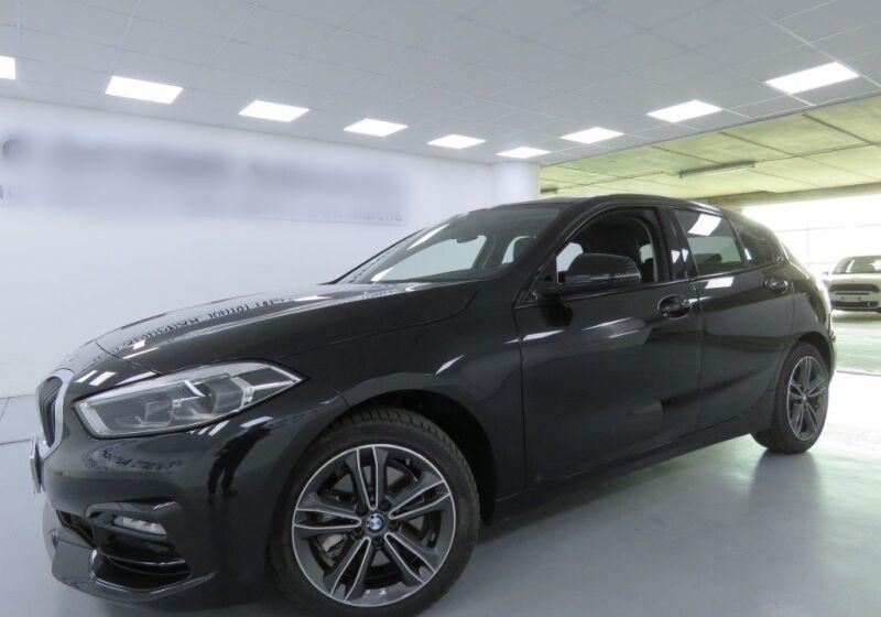 BMW Serie 1 116d 5p. Sport Saphirschwarz Usato Garantito 750B457-a