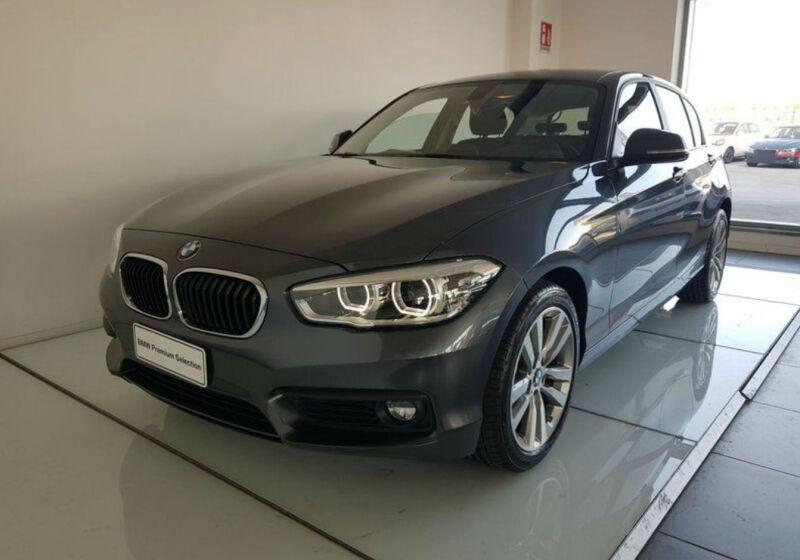 BMW Serie 1 118d 5p. Advantage Mineral Grau Km 0 LT0B5TL-a