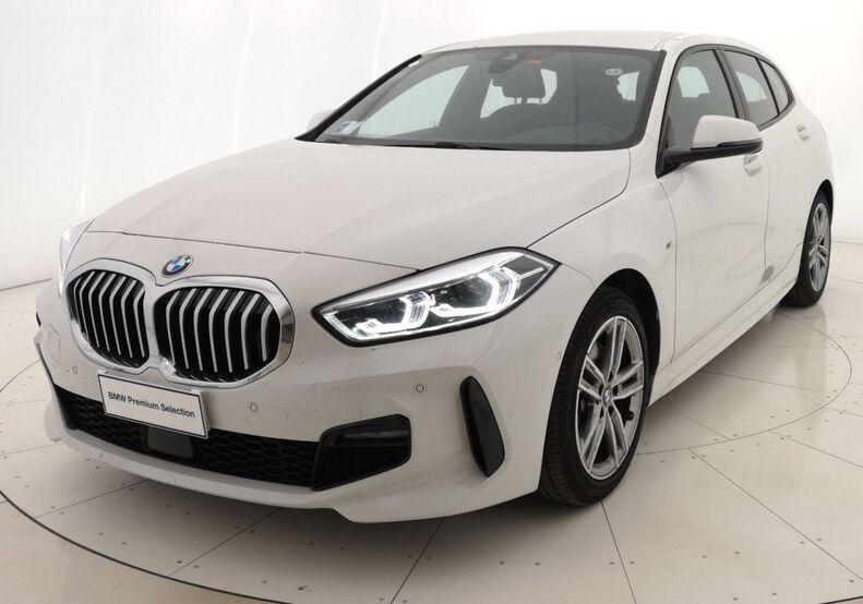 BMW Serie 1 118d 5p. MSport aut. Alpinweiss III  Usato Garantito L20BS2L-a
