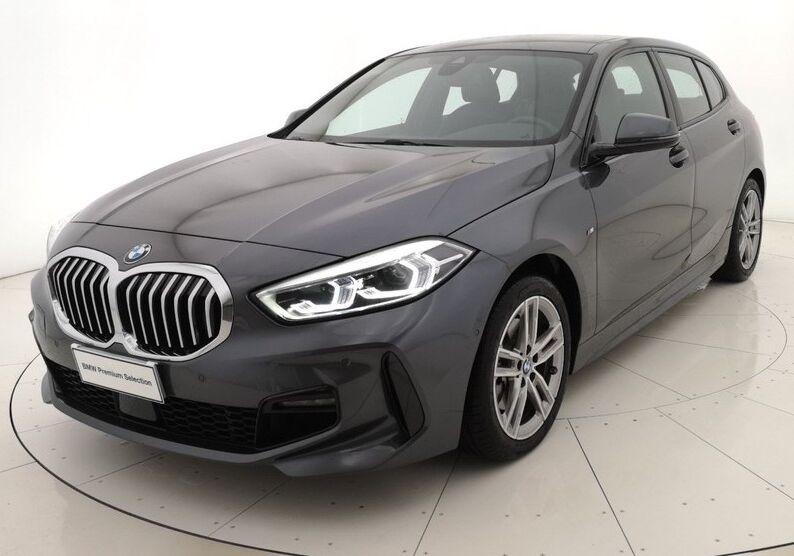 BMW Serie 1 118d 5p. MSport aut. Mineral Grau Usato Garantito HZ0B8ZH-a