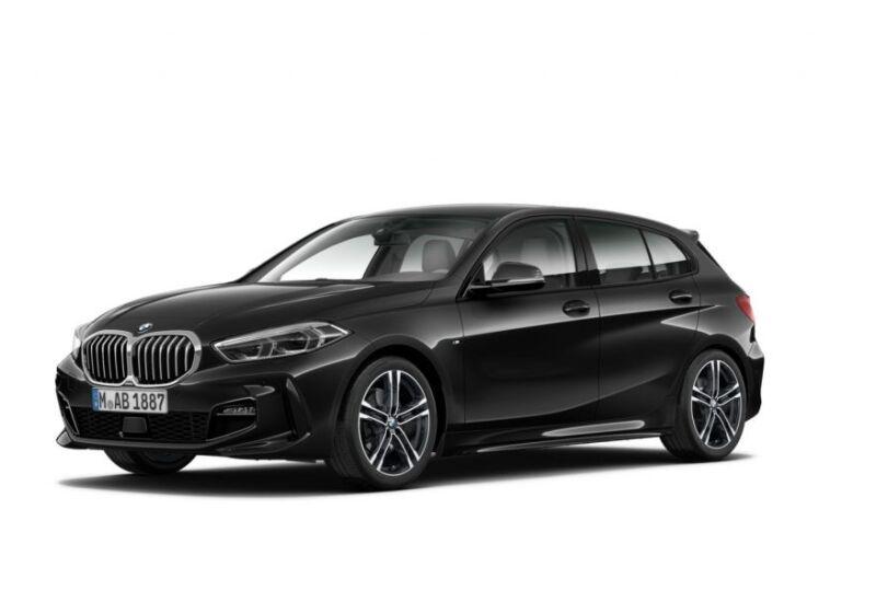 BMW Serie 1 118d 5p. MSport aut. Saphirschwarz Da immatricolare 4E0CKE4-a