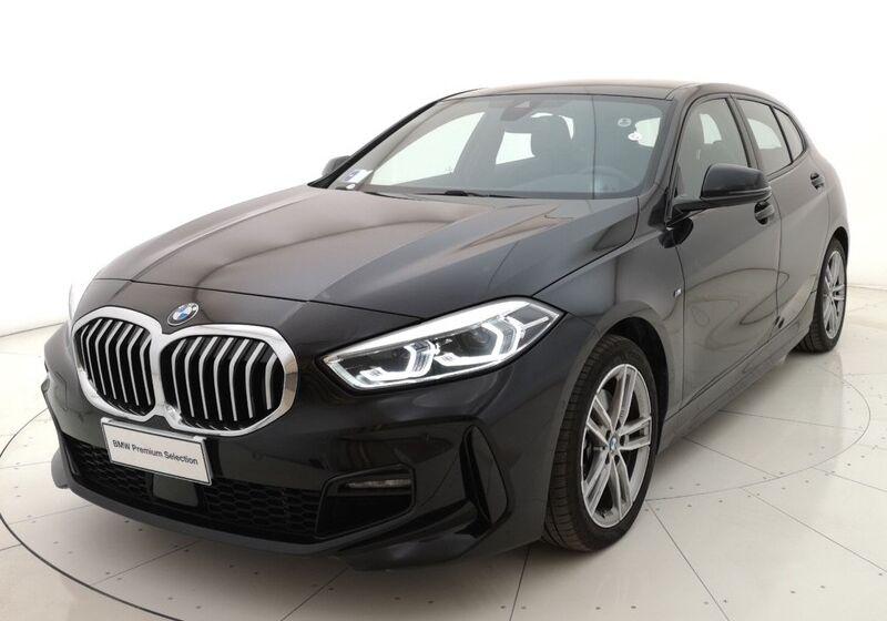 BMW Serie 1 118d 5p. MSport aut. Saphirschwarz Usato Garantito 5Z0B8Z5-a