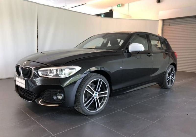 BMW Serie 1 118d 5p. Msport aut. Saphirschwarz Km 0 9AZ0ZA9-a