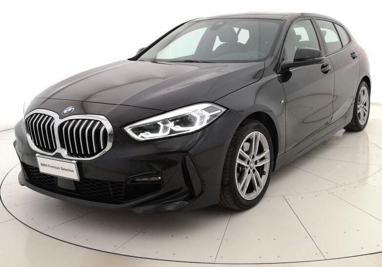 BMW Serie 1 118d 5p. MSport aut. Saphirschwarz Usato Garantito FX0BRXF-a