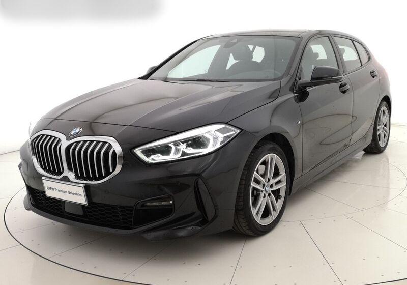 BMW Serie 1 118d 5p. MSport aut. Saphirschwarz Usato Garantito RR0B8RR-1-v2
