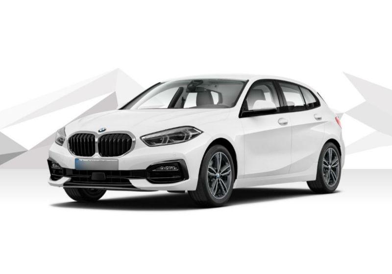 BMW Serie 1 118d 5p. Sport Auto Alpinweiss III  Km 0 FD0B3DF-a
