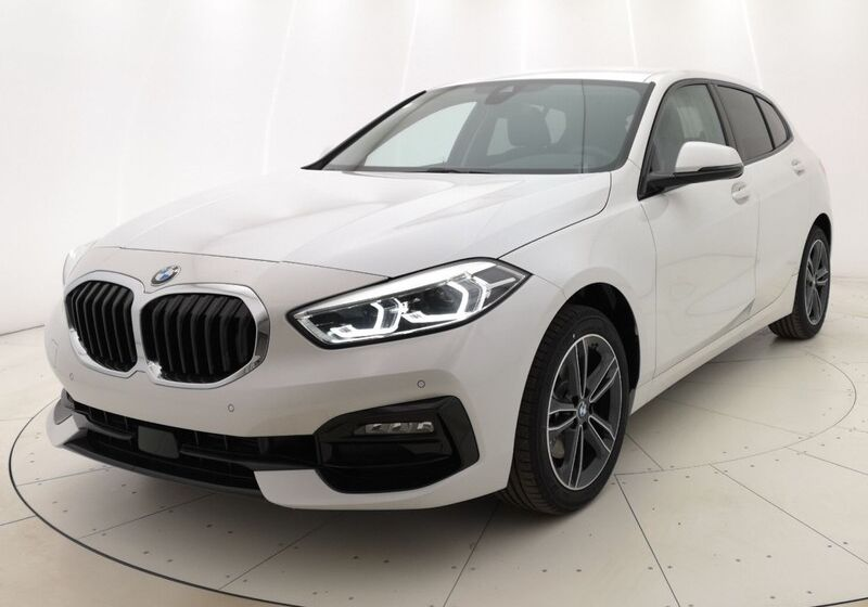 BMW Serie 1 118d 5p. Sport Auto Mineral White Usato Garantito R80BY8R-U23000009842307200565AN-