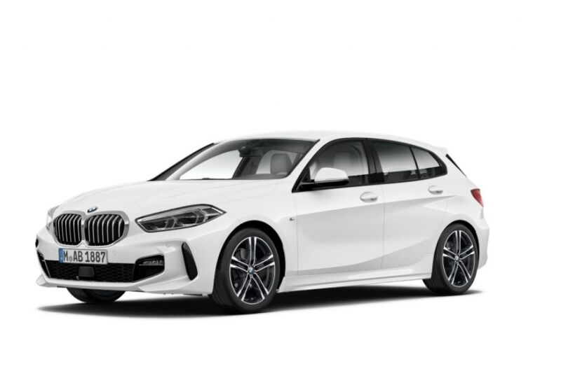 BMW Serie 1 120d Msport auto Alpinweiss III  Da immatricolare HH0CKHH-a