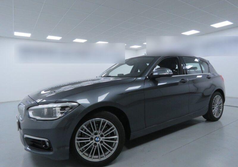 BMW Serie 1 BMW 116d 5p. Urban Mineral Grau Usato Garantito PF0BNFP-a_censored
