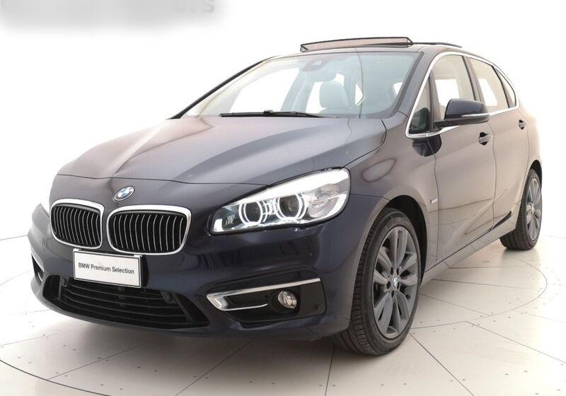 BMW SERIE 2 220d Active Tourer Luxury Imperial blue Usato Garantito 930CJ39-at-v1