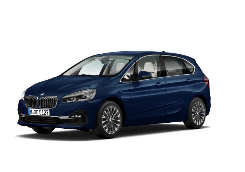 BMW Serie 2 218d act.tourer Luxury auto Mediterranean Blue Da immatricolare 2L0C3L2-a