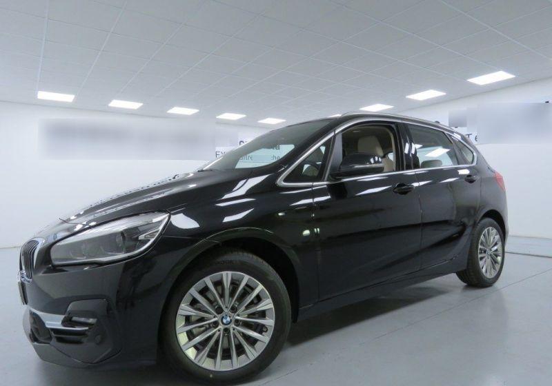 BMW Serie 2 218d act.tourer Luxury auto Saphirschwarz Usato Garantito FDZ0ZDF-a_censored